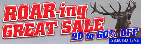 ROAR-ing GREAT SALE. 20 - 60% OFF selected items