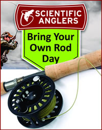 Scientific Anglers Bring your own rod day - September 2017