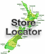 Find a store within NZ