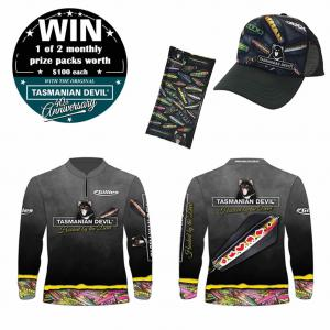 WIN 1 of 2 monthly prize packs valued at $100