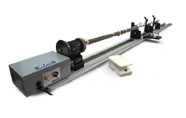 Alps binding machine deluxe 220v alpsrwm kilwell for Fishing rod building tools